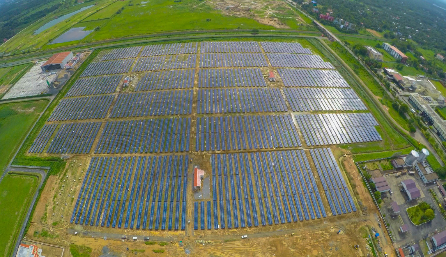 India and its Fully Solar-Powered Airport